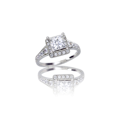 One Carat Diamond Ring